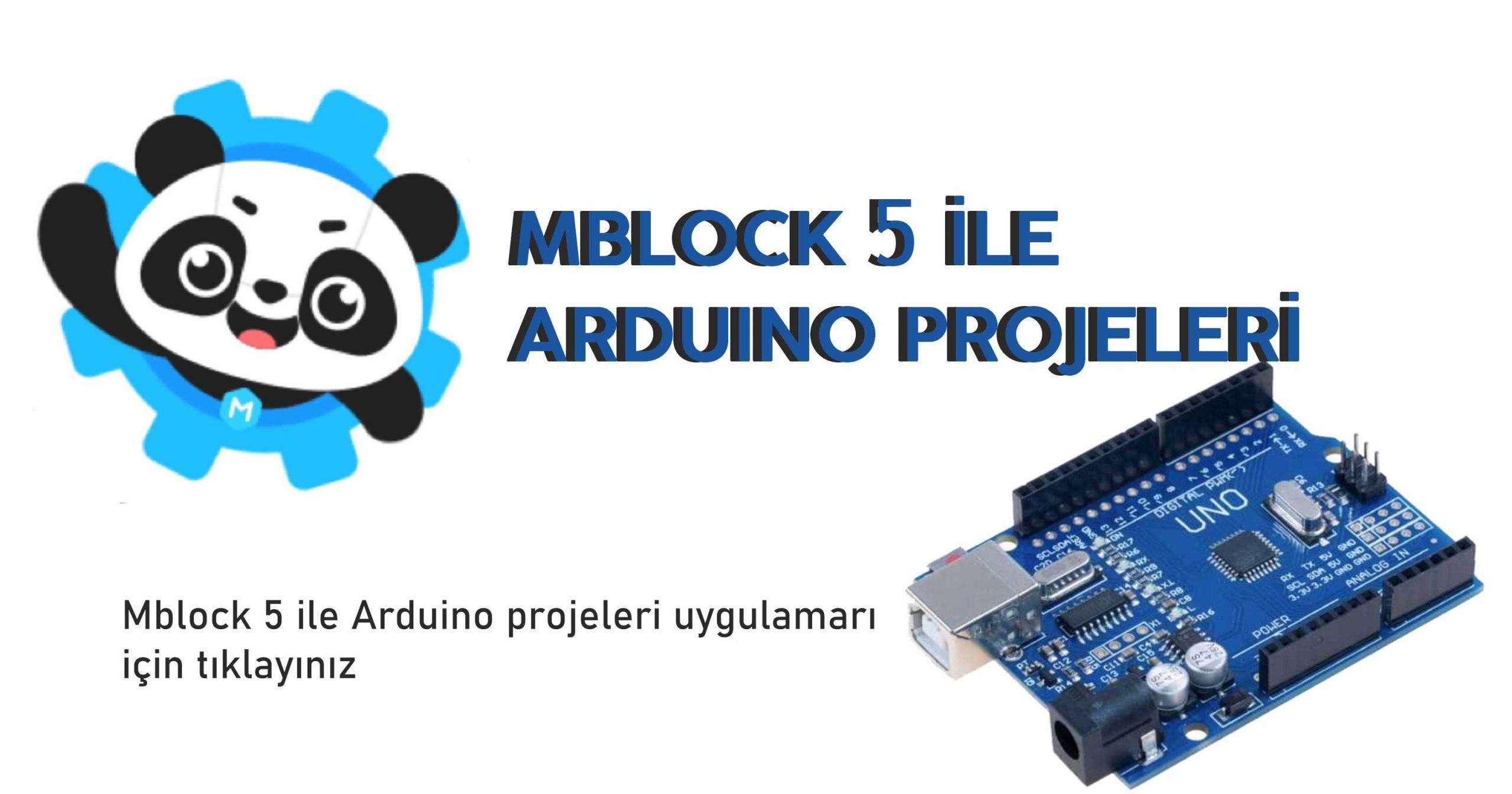 Mblock 5 ile arduino